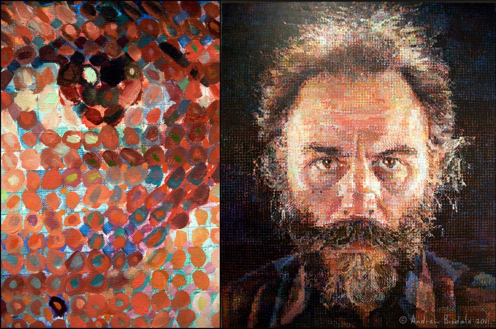 DMC Design Labs » Collage Inspiration – Chuck Close | 2D Design ...