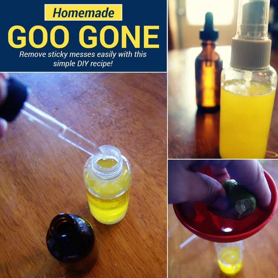 Get that sticker residue off with this homemade Goo Gone