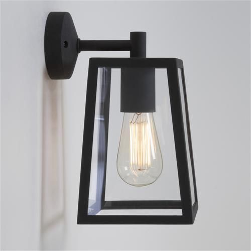 7105 Calvi Outdoor Wall Light Black