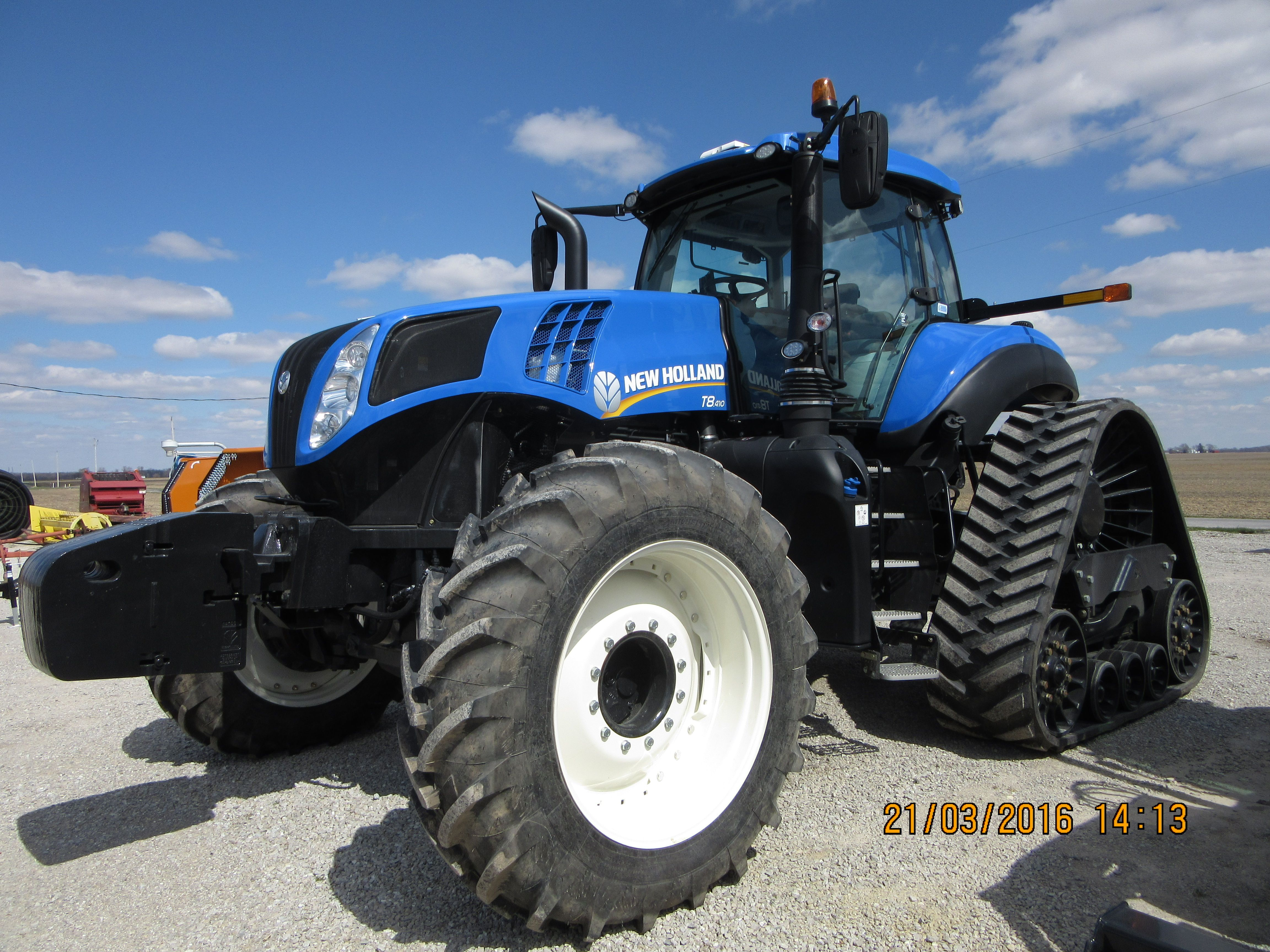 New Holland T8 410 Smart Trax New Holland Ford New Holland