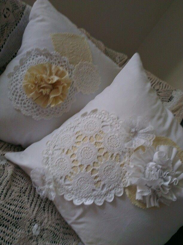 Shabby cushions