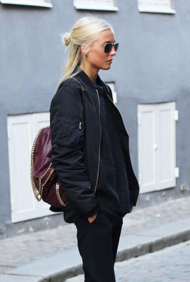 Zalando <3 Street Style | BOMBERJACKE OUTFIT | Schwarze
