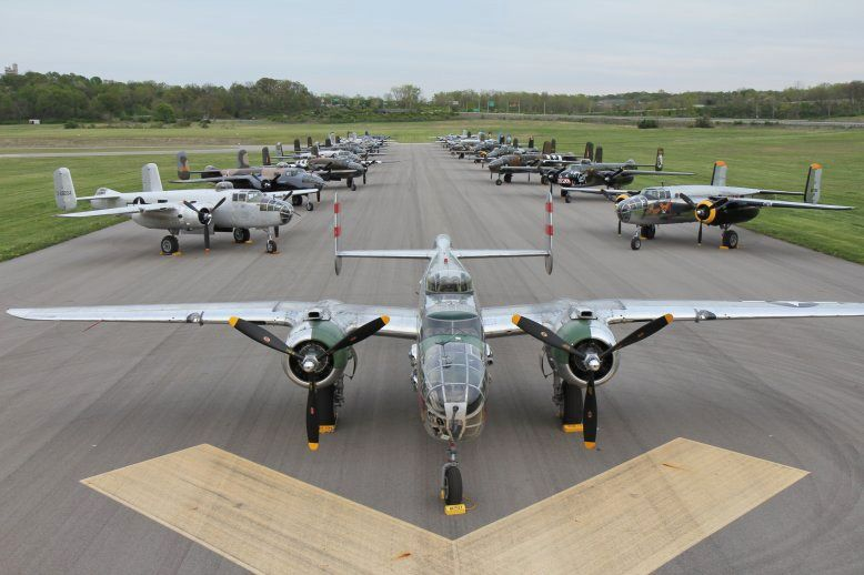 Every Two Years The Bloemfontein Flying Club Hosts An Airshow The Special Feature For This Year Is The Vintage Commemorative Air Force Aircraft Wwii Aircraft