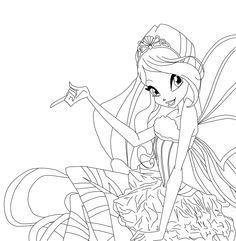 Winx Club Coloring Pages Bloom Winx Club Bloom Sirenix Coloring Pages Kleurplaten Fotoboek
