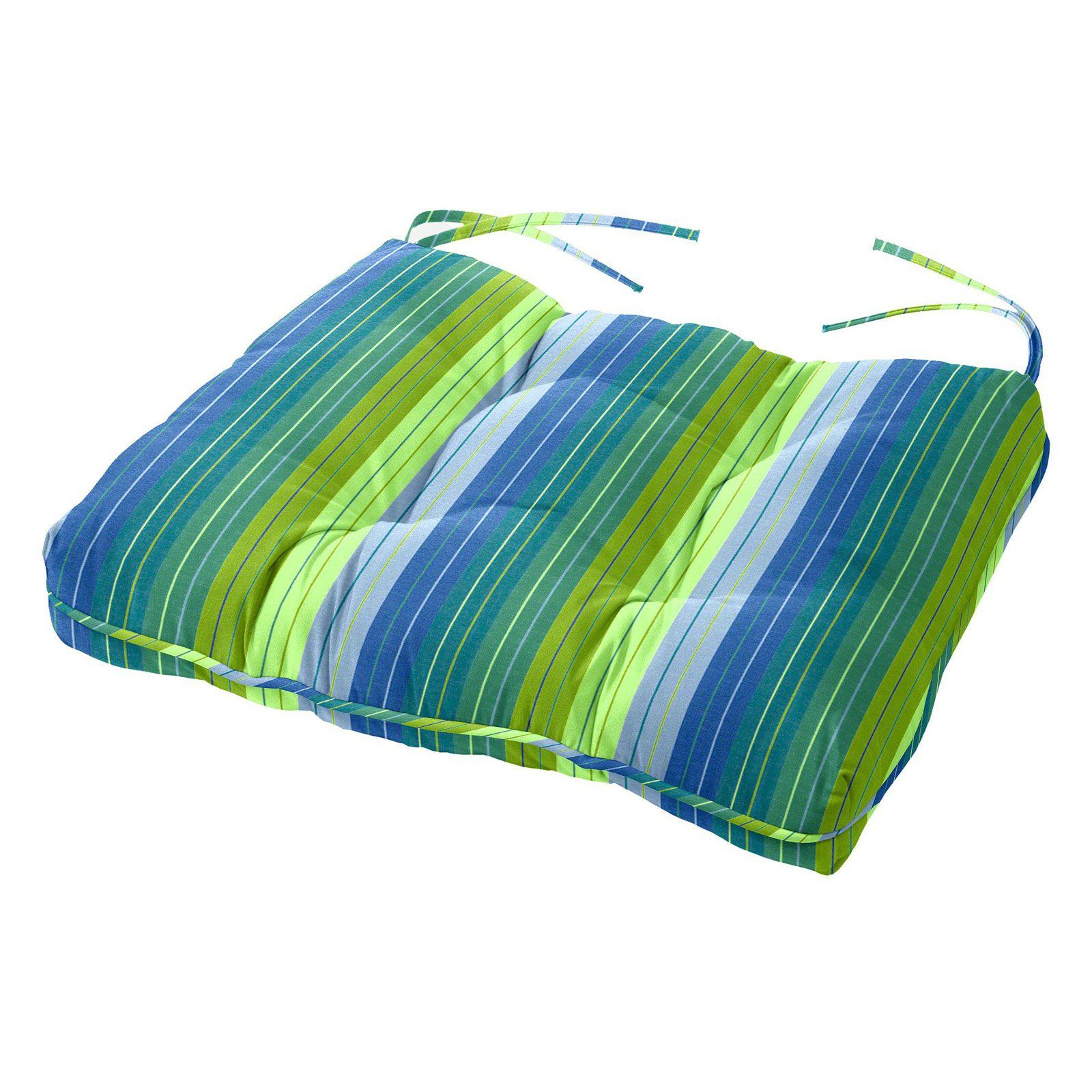 Cushion Source 24 5 X 20 In Striped Sunbrella Chair Cushion In 2019