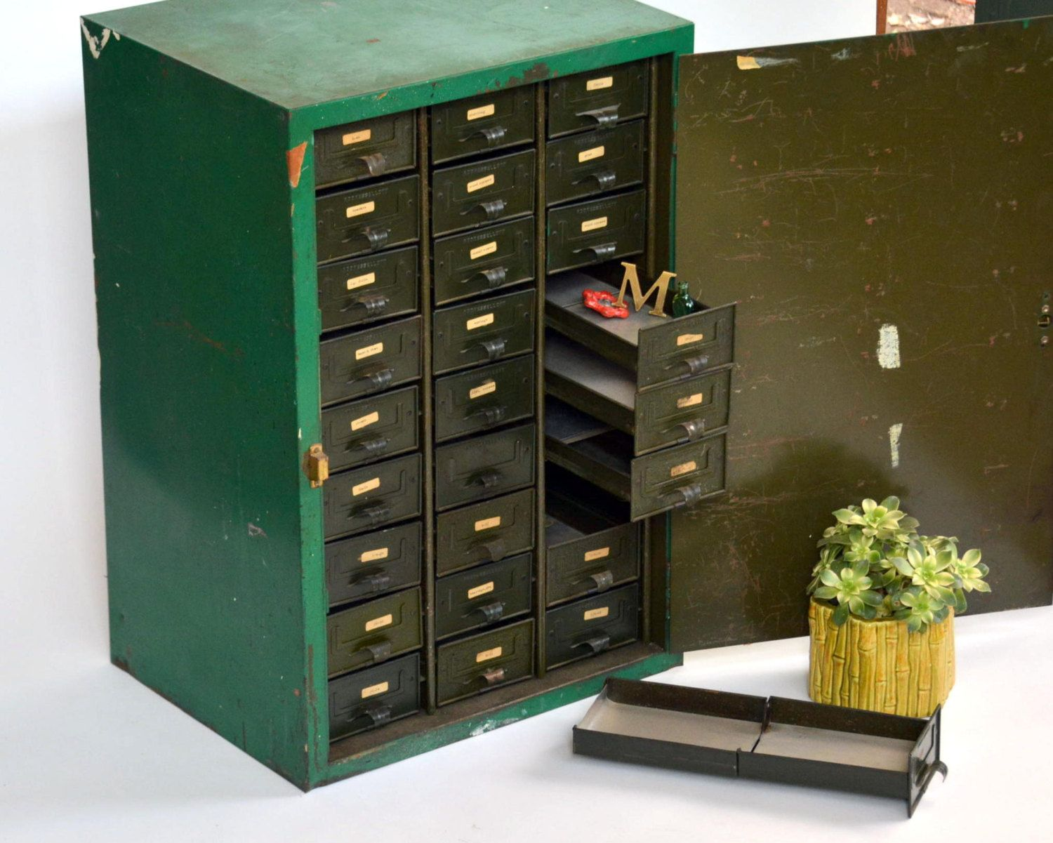 century mid sold modern empire storage lateral vintage cabinet file industrial