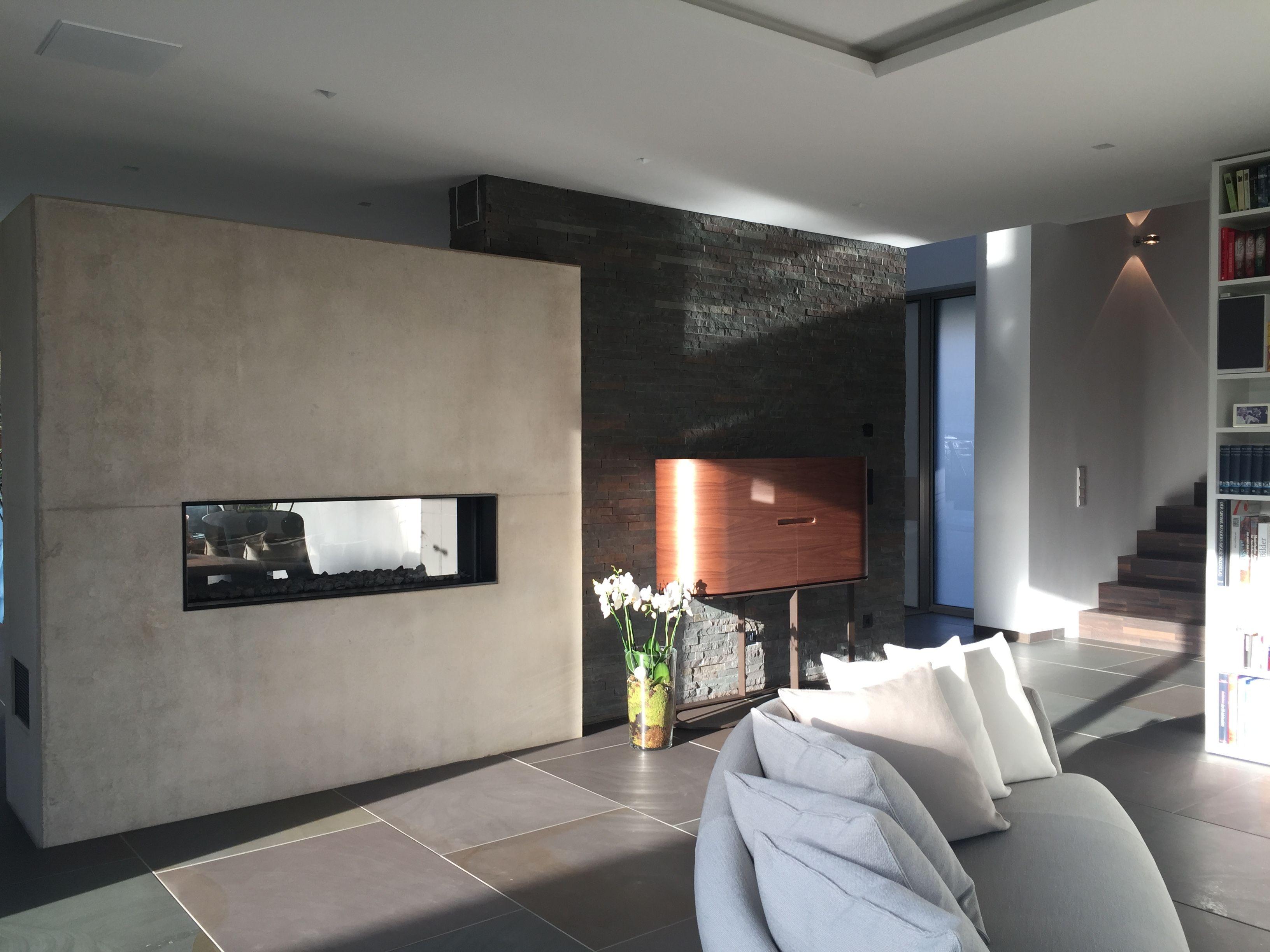 Moderne Wohnzimmer Gestaltung. Exklusives Design. Original ...