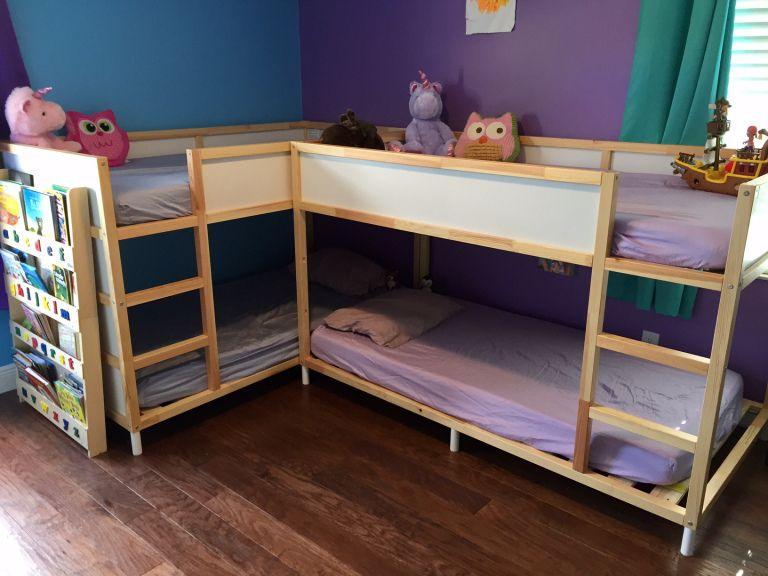 Etagenbett Ikea Kura : Ikea hack kura bunk bed baby kinderzimmer