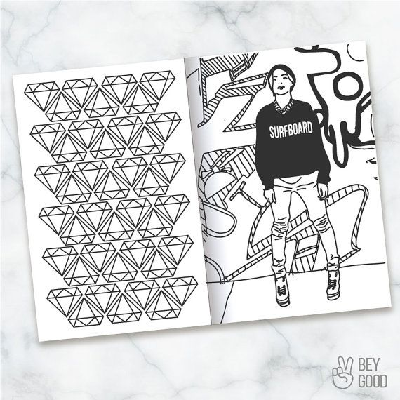 printable beyonce themed coloring book beybook by beygoodco - Beyonce Coloring Book
