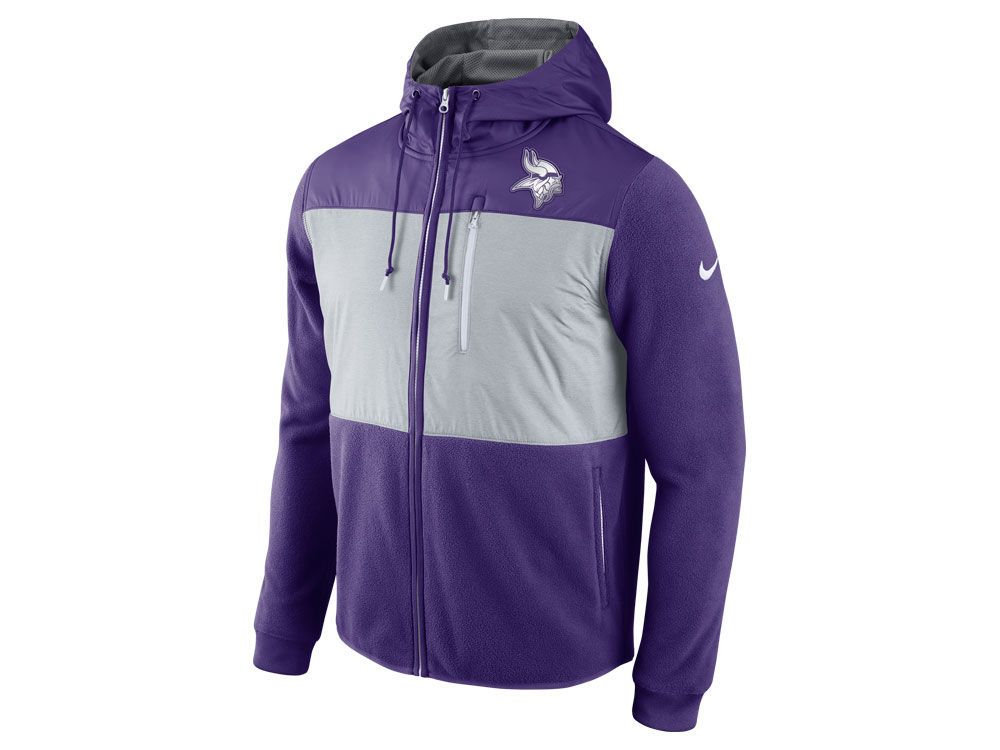 8277047c7 Minnesota Vikings Nike NFL Men s Champ Drive Full Zip Hoodie