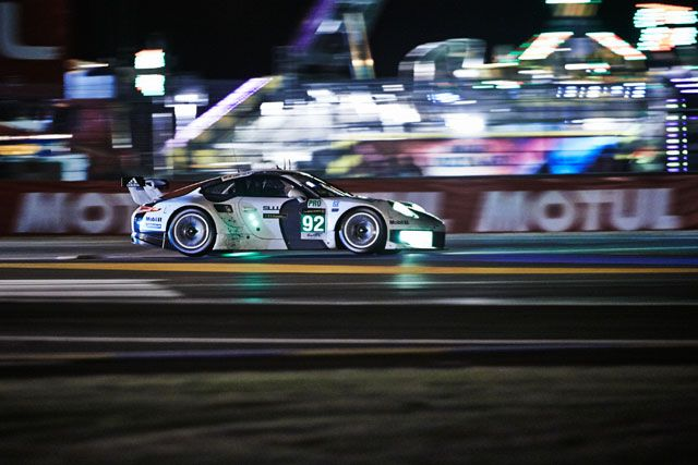 Porsche 911 RSR triumphs in the LMGTE-Pro class at the Le Mans 24 Hours.