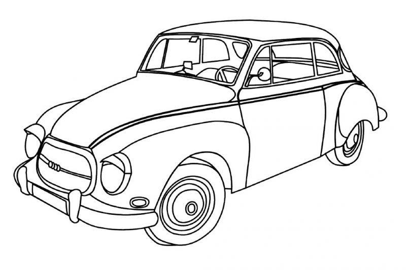 20 Gambar Mobil Kartun Untuk Mewarnai 50 Gambar Mewarnai Yang Seru Dan Menarik Untuk Anak Anak Download Contoh Gambar Gambar Kartun Halaman Mewarnai Warna