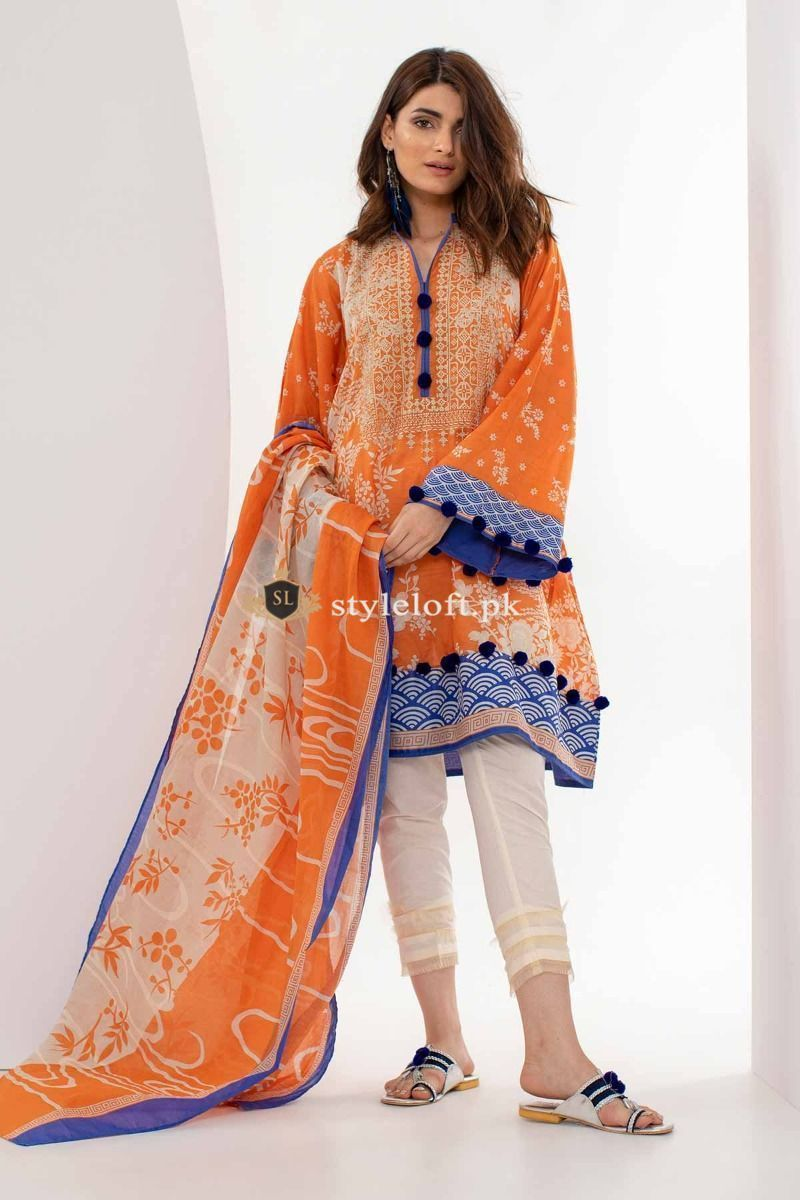 70f10f11ce Khaadi Spring Summer Collection 2019 3pc Lawn Suit M18103 #pakistanidresses  #shoppingandfashion #instafashion #girlsfashion #pakistaniclothes #fashion  ...