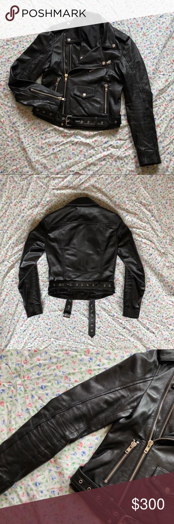 Showroom Sample Leather Jacket I wore this leather jacket
