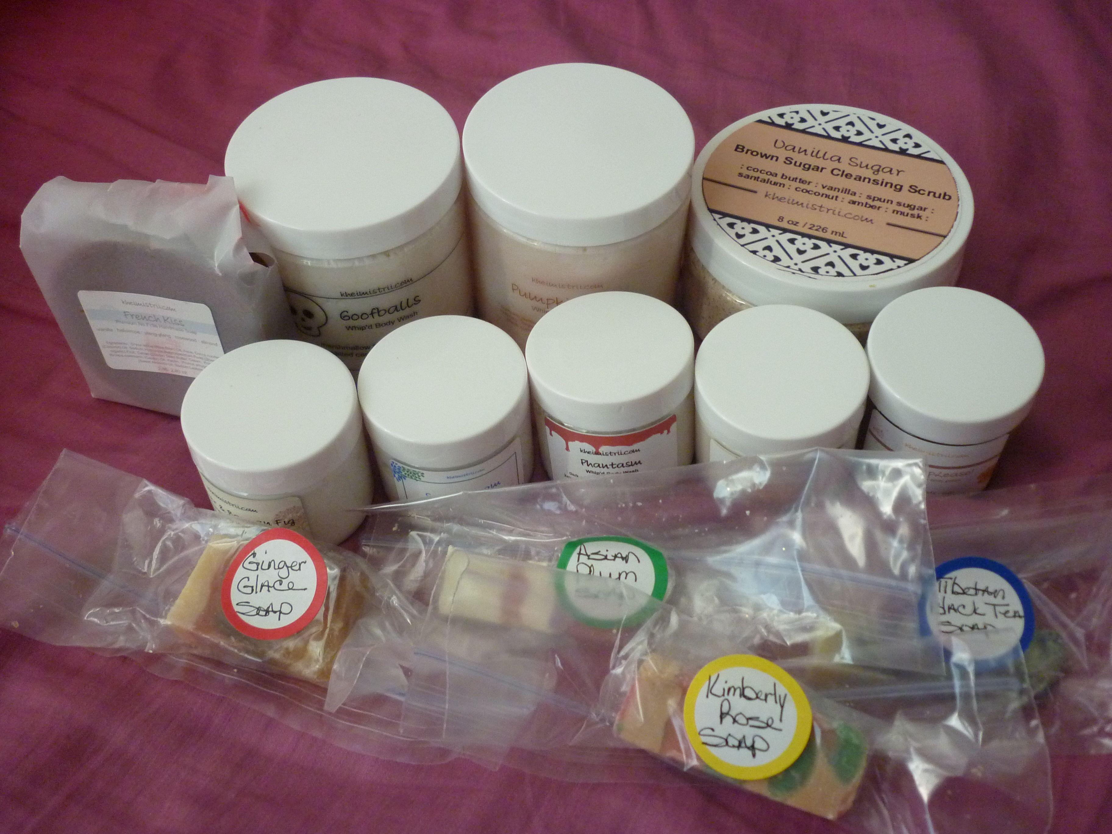 Kheimistrii Bath and Body Products! Bath and body, Body