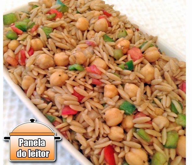PANELATERAPIA - Blog de Culinária, Gastronomia e Receitas: Panela do Leitor: Salada de Orzo