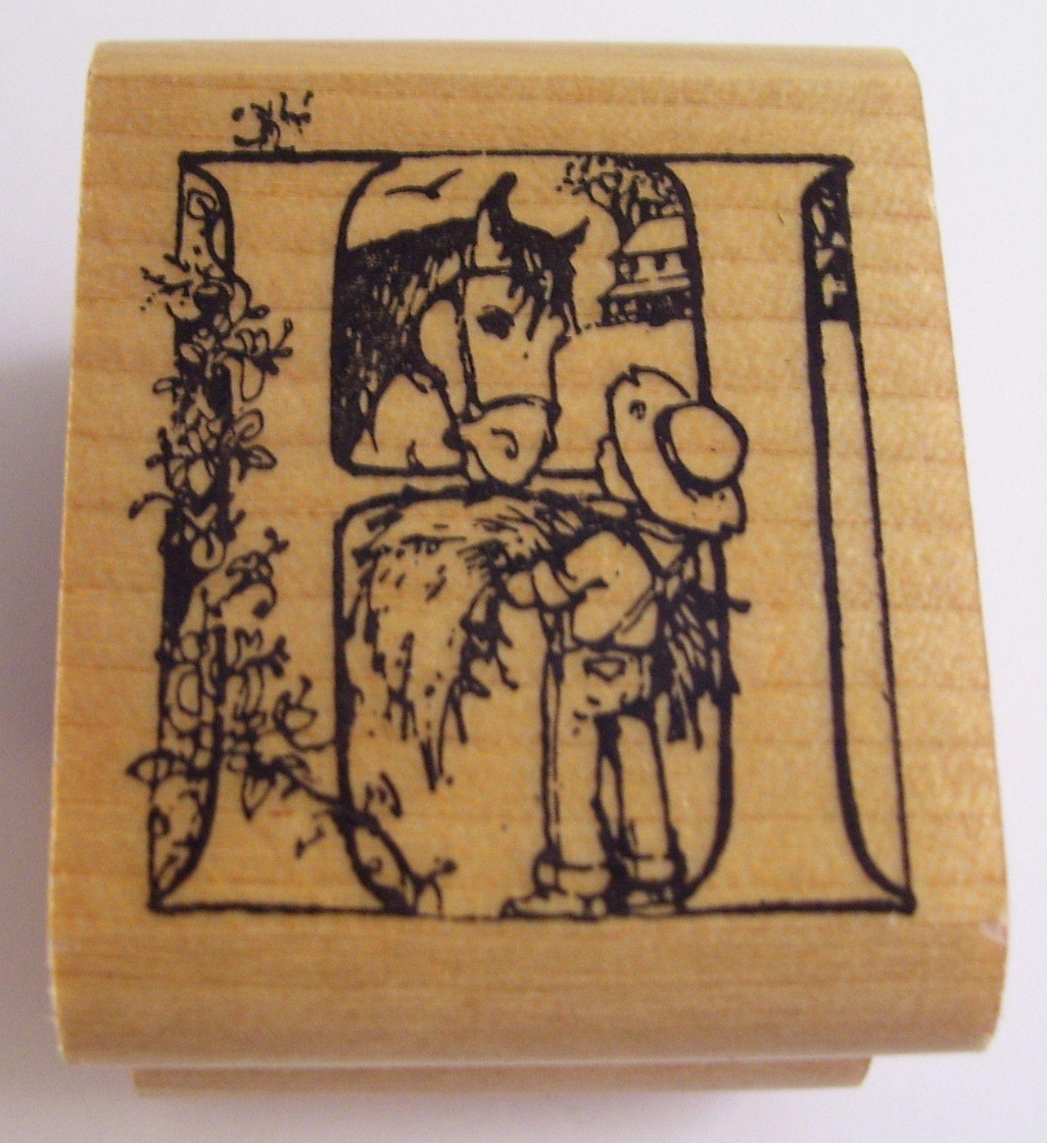 Trina Schart Hyman Alphabet Letter H Kidstamps Rubber Stamp