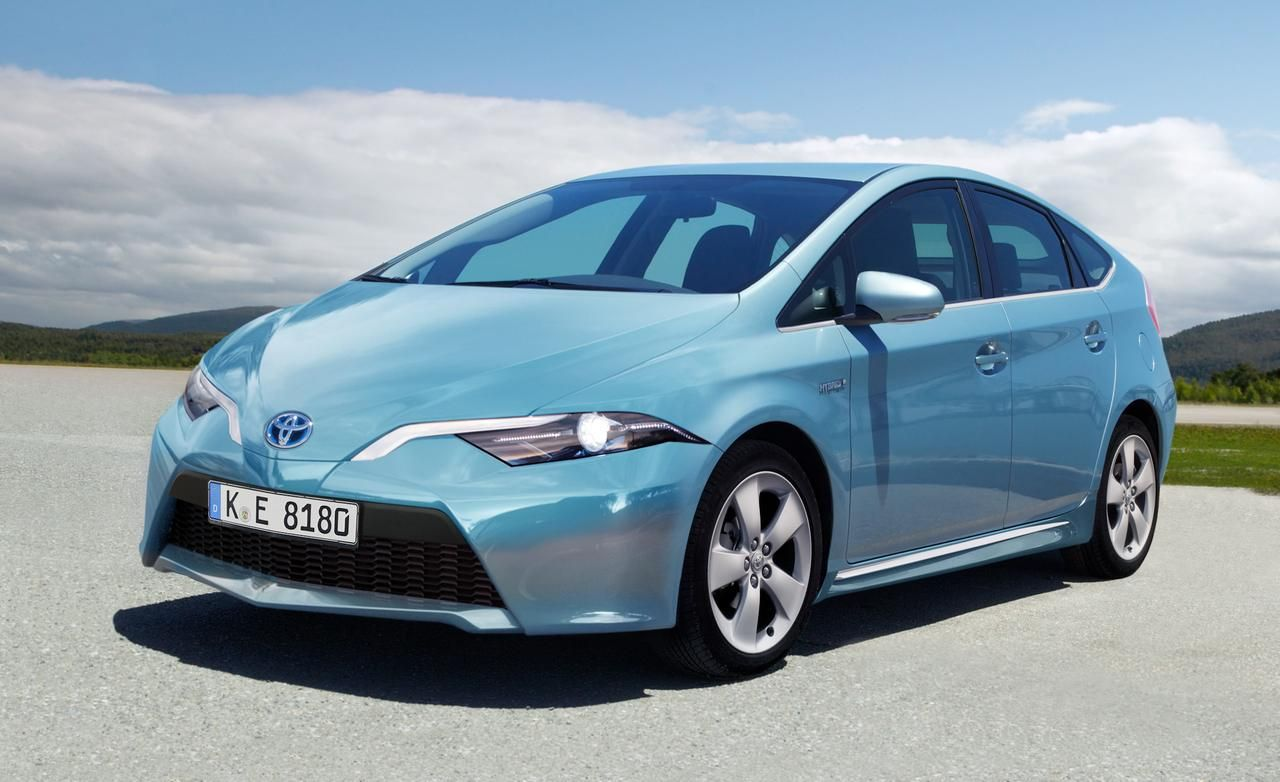 2015 Toyota Prius - Top 10 Best Gas Mileage Hybrid Cars 2014
