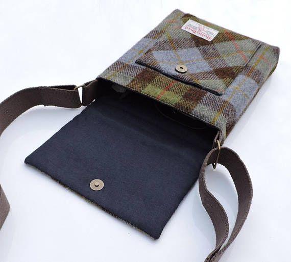 Mens messenger bag PDF sewing pattern. The Craggan. man bag. iPad ...