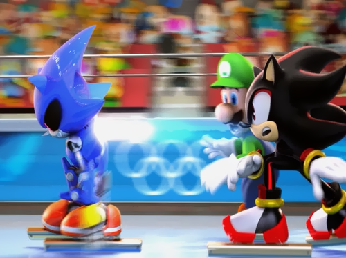 Mario & Sonic At The Winter Olympic Games Sonic, Sonic