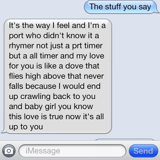 Sweet sms to boyfriend