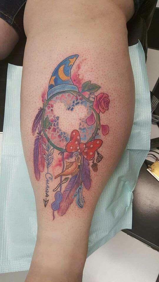 Disney Dream Catcher Tattoo : disney, dream, catcher, tattoo, Disney, Dream, Catcher, Tattoo, Mickey, Tattoo,, Tattoos,, Mouse, Tattoos