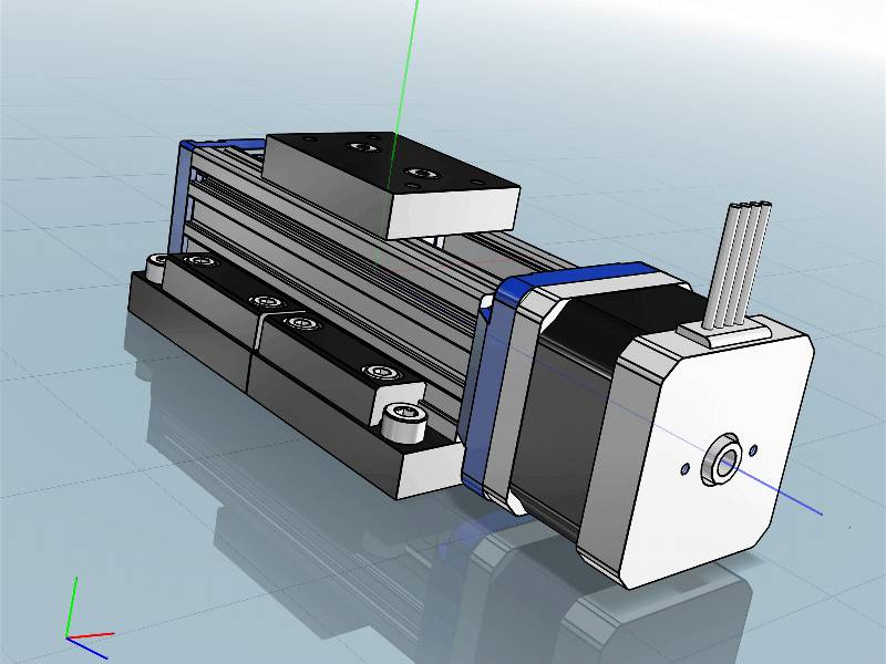 Helix Linear Online 3D CAD Models with Interactive Product
