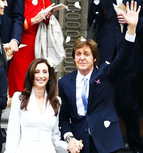 Celebrity Wedding Singers: Paul McCartney's Wedding Reception: All The Details