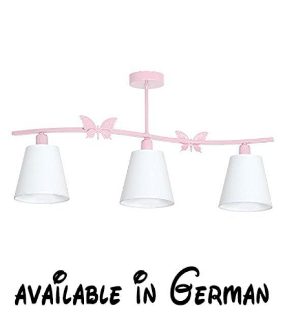 ... Kinderzimmerlampe Hängelampe Deckenleuchte Deckenlampe Kronleuchter.  Made In EU. Waren Von Höchster Qualität.. Höhe: 40 Cm Breite: 75 Cm Tiefe:  15 Cm.