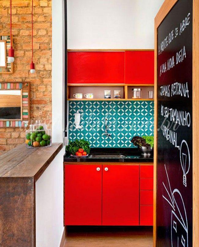Küchen Design Ideen: Rote Küche | Kitchens