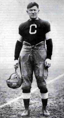 """James Francis """"Jim"""" Thorpe was an American athlete of Native American ancestry. Considered one of the most versatile athletes of modern sports, he won Olympic gold medals for the 1912 pentathlon and decathlon, played American football (collegiate & professional), and also played professional baseball and basketball. He lost his Olympic titles after it was found he was paid for playing two seasons of semi-professional baseball before competing in the Olympics, thus violating the amateurism…"""