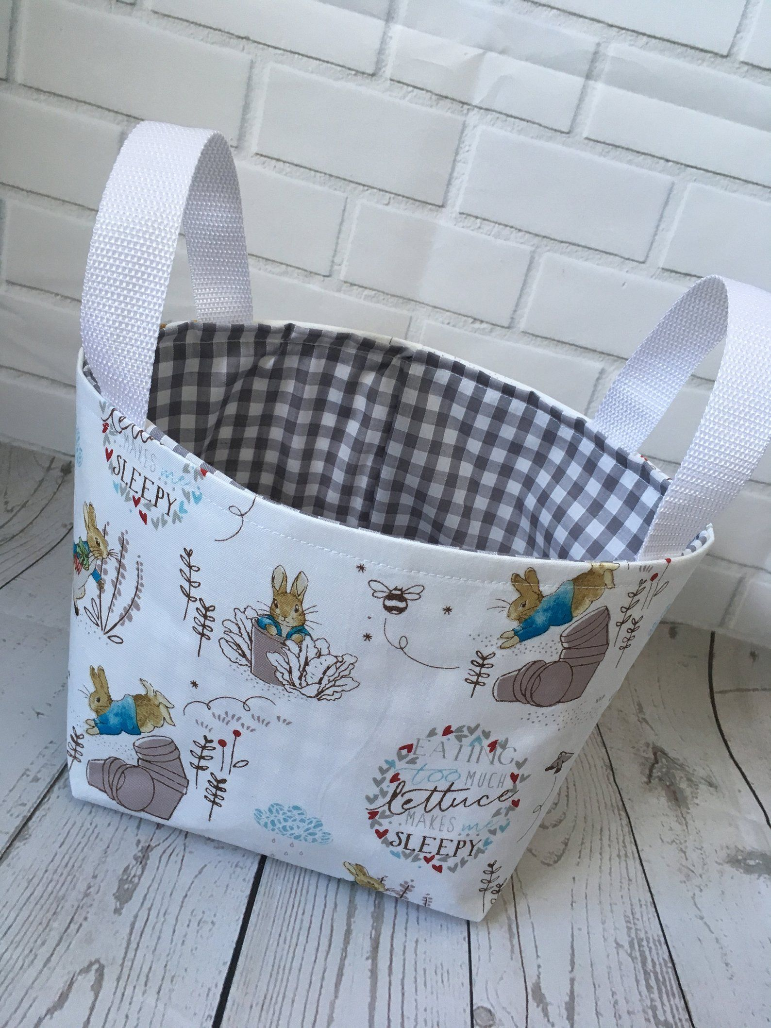 Last Ones*** Peter Rabbit Nursery Basket Many Other Items Listed
