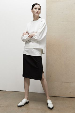 Helmut Lang Pre-Fall 2014 Collection Slideshow on Style.com