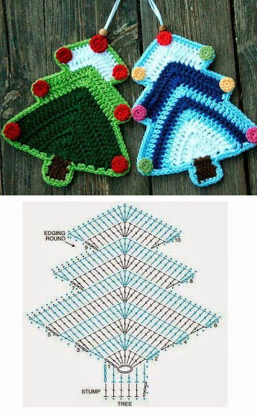 Häkelfieber | Crochet | Pinterest | Navidad, Detalles navideños y ...