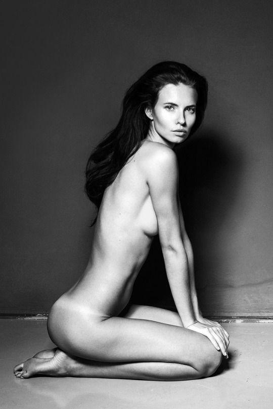 Naked girl masterbating in bathroom