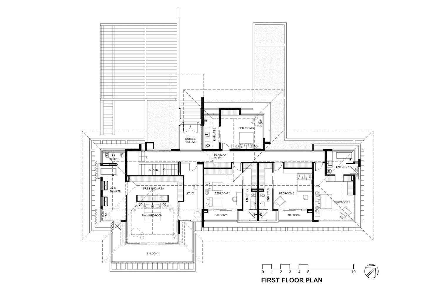 Reserve House Wide Ocean Frontage Taking Full Advantage Panoramic Beach Sea Views 29 Drawing House Plans Craftsman Floor Plans Large Floor Plans