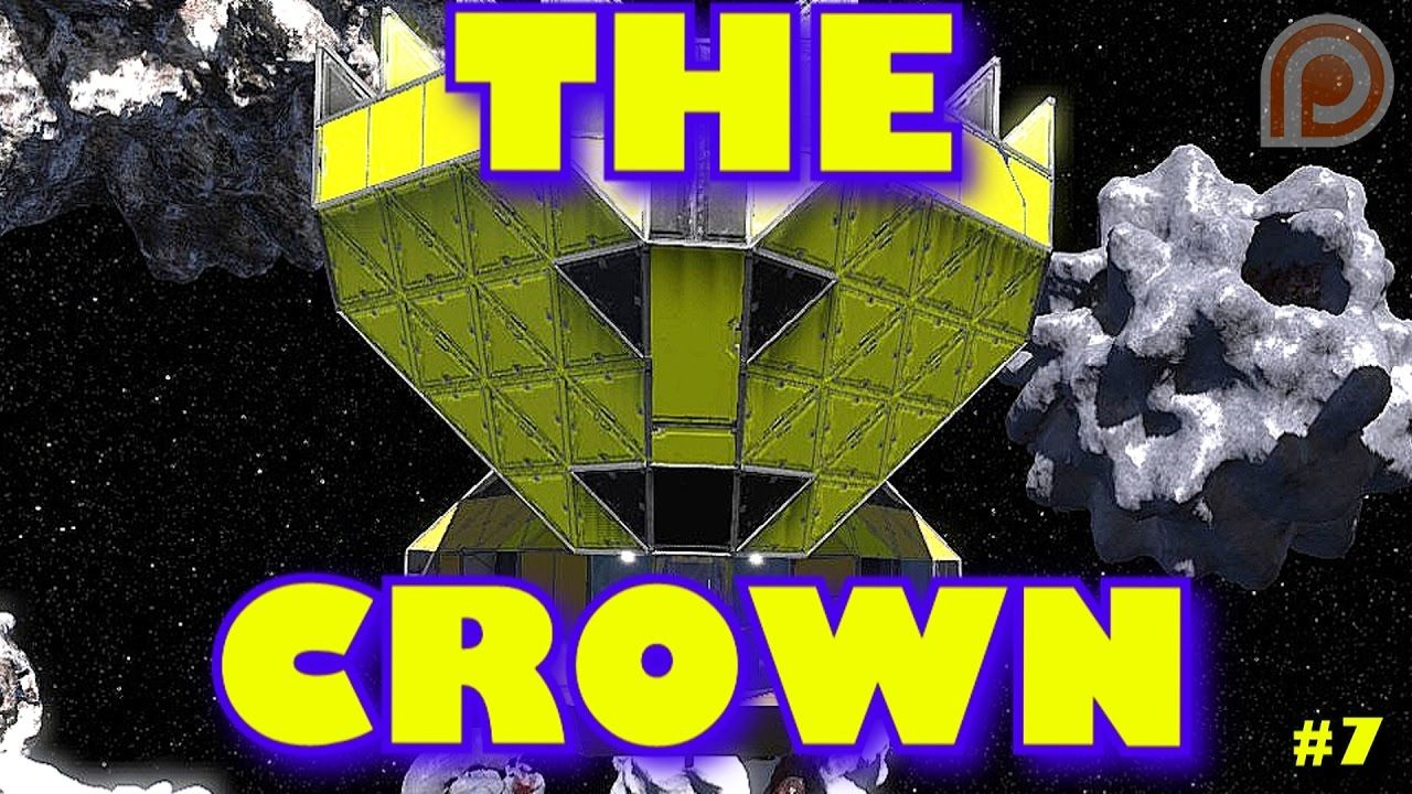 The Crown Is The Best Mining Ship Space Engineers Coop Survival S Space Engineers The Crown Engineering