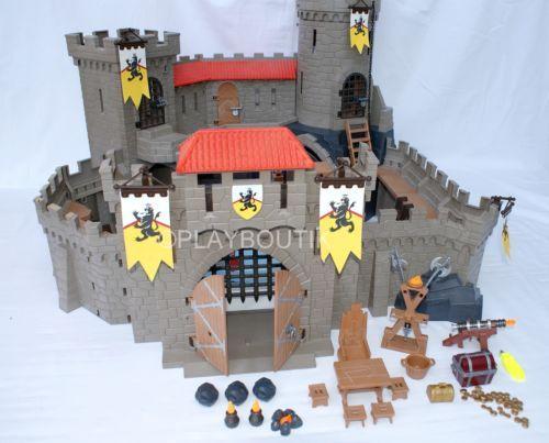 Playmobil Chateau Fort Des Chevaliers Du Lion 4865 Notice De Montage