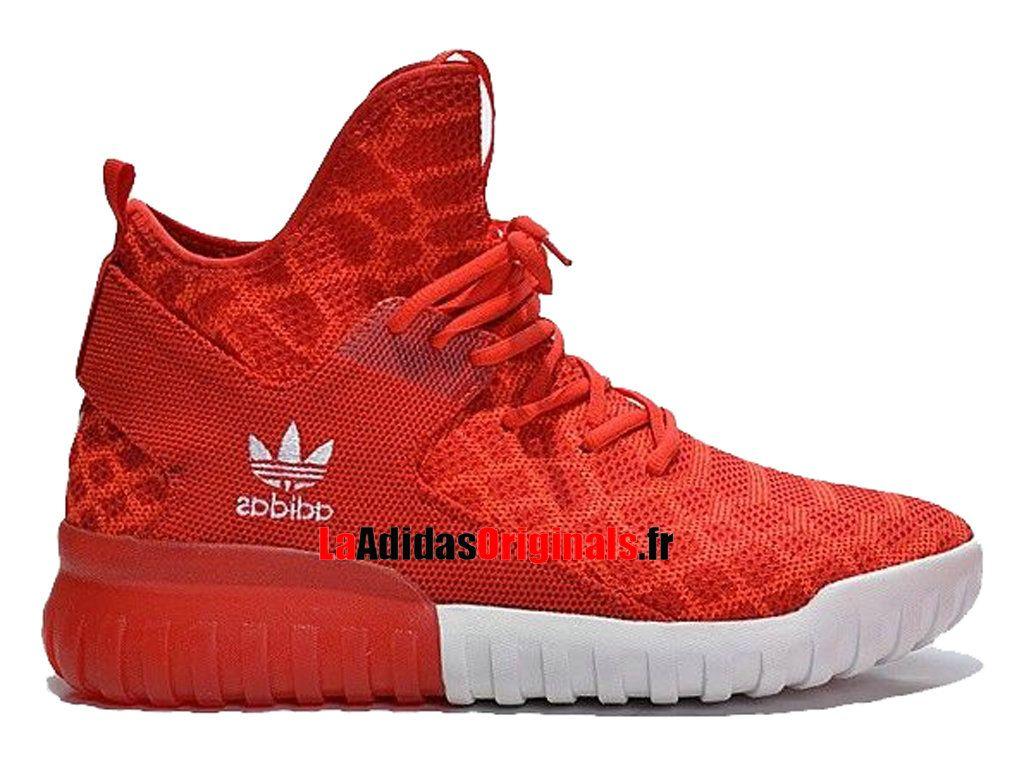 adidas basket femme rouge