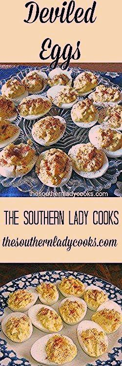 #The #Southern #Lady  The Southern Lady Cooks – GREAT DEVILED EGGS #deviledeggs