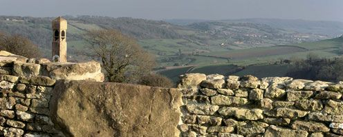 Plan your walk on the Cotswold Way  Looking towards Cold Ashton ©Natural England Photographer Nick Turner