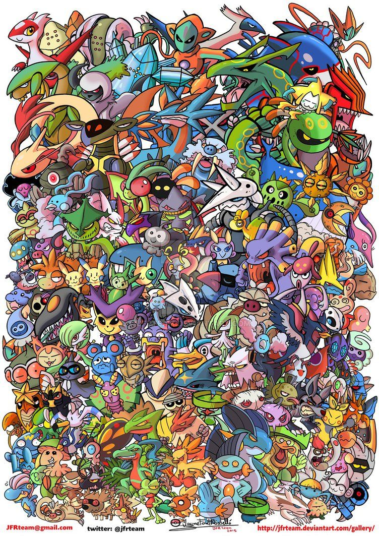 All Hoenn Pokemon By Jfrteam On Deviantart Pokemon Pokemon Fan