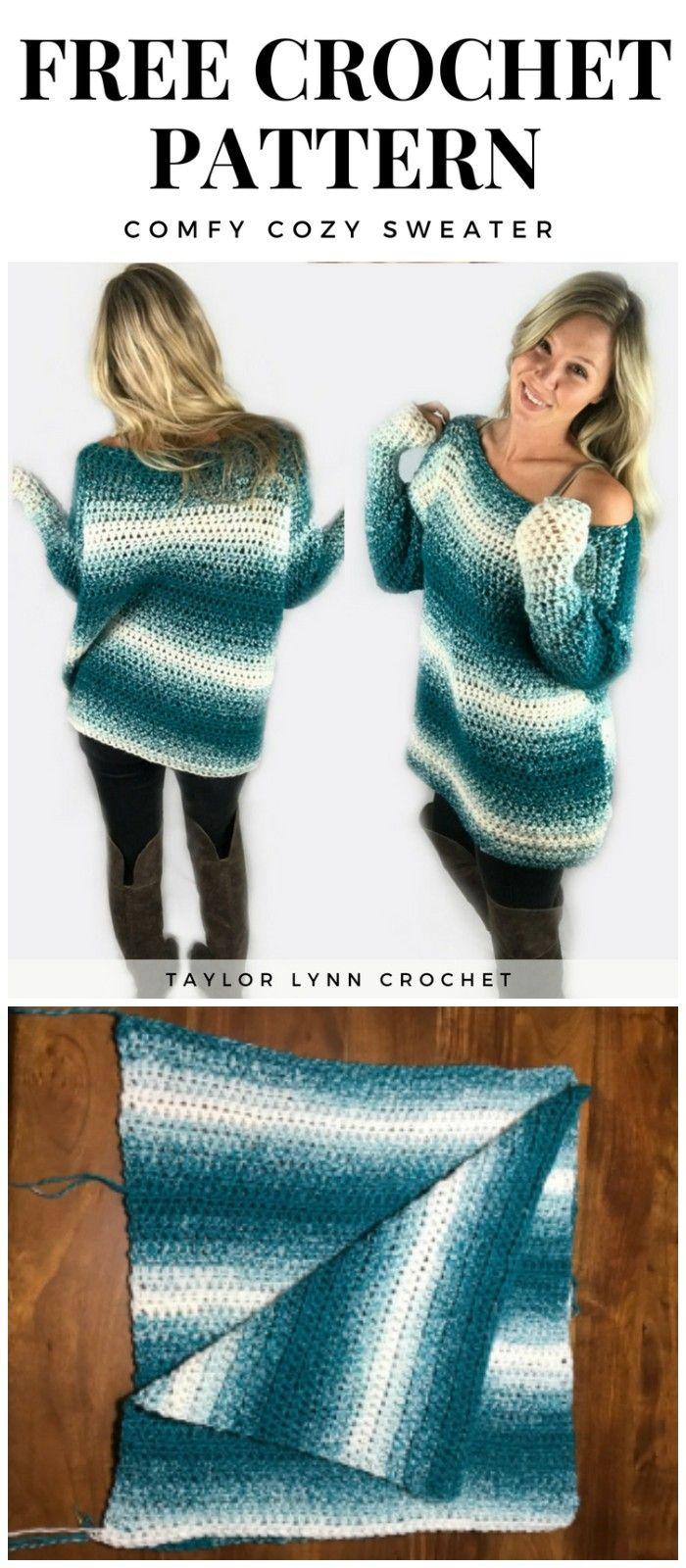 Cozy And Stylish Crochet Sweater – Patterns And Ideas #crochetsweaterpatternwomen