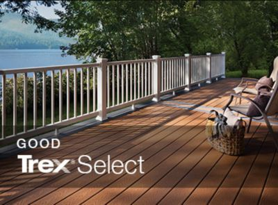 If You Re Using Trex S Select Decking Line Our Deck Cost Calculator Can Determine The Price Of The Mater Outdoor Flooring Options Outdoor Flooring Deck Colors