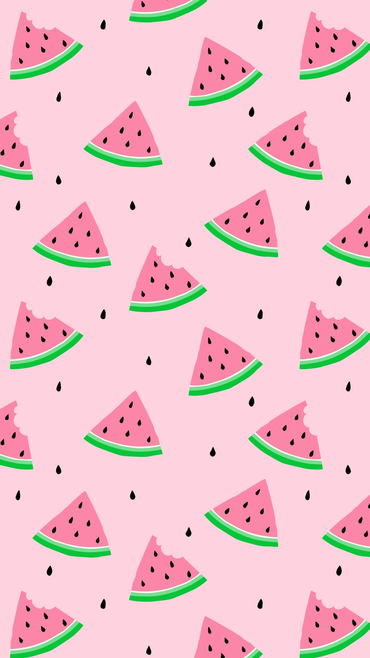 Watermelon wallpaper Watermelon wallpaper, Cute