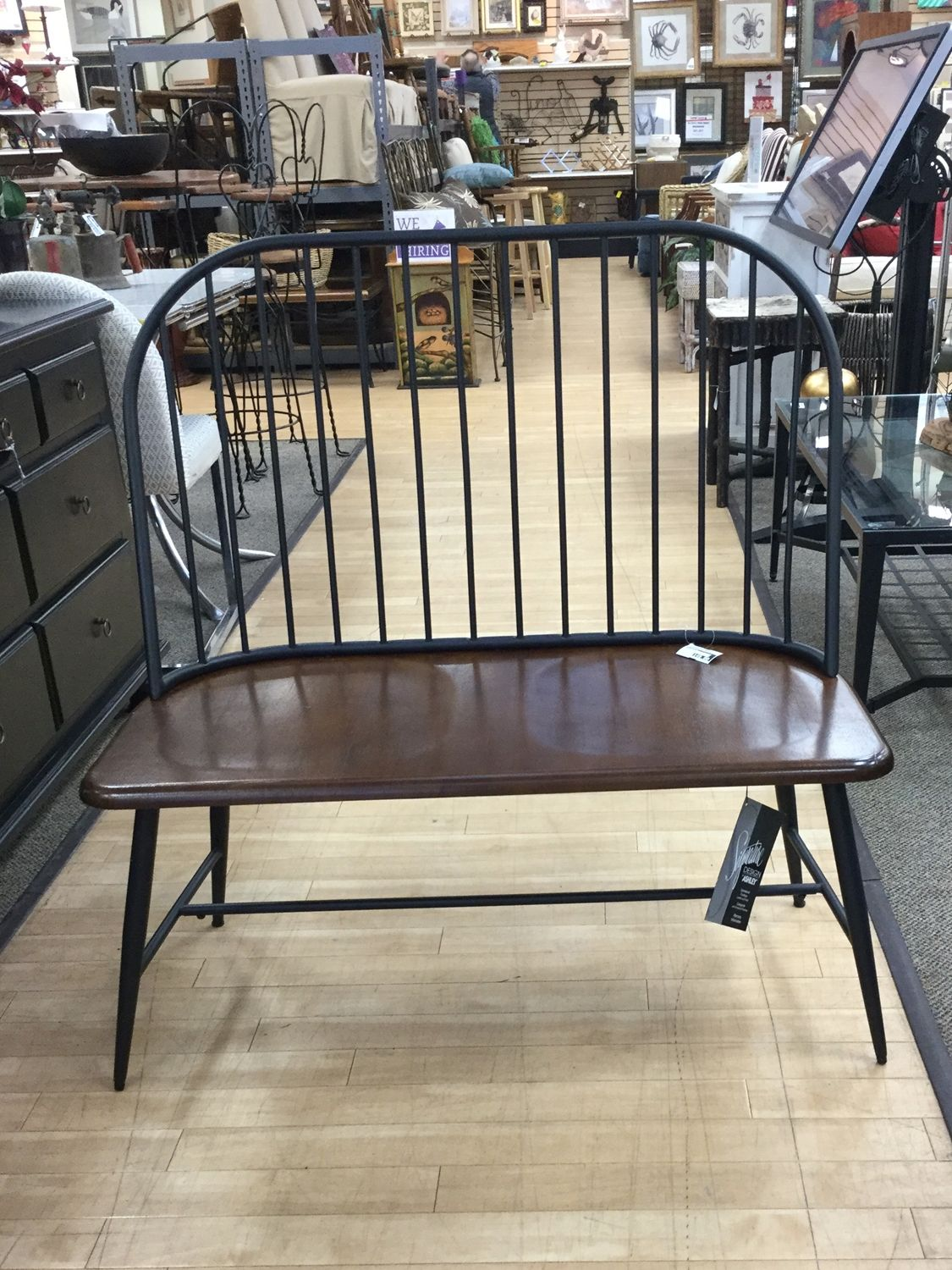 New Entry Bench From Ashley Furniture Perfect For Sitting
