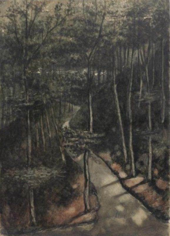 Jan Toorop - Bolwerk bij Kleef