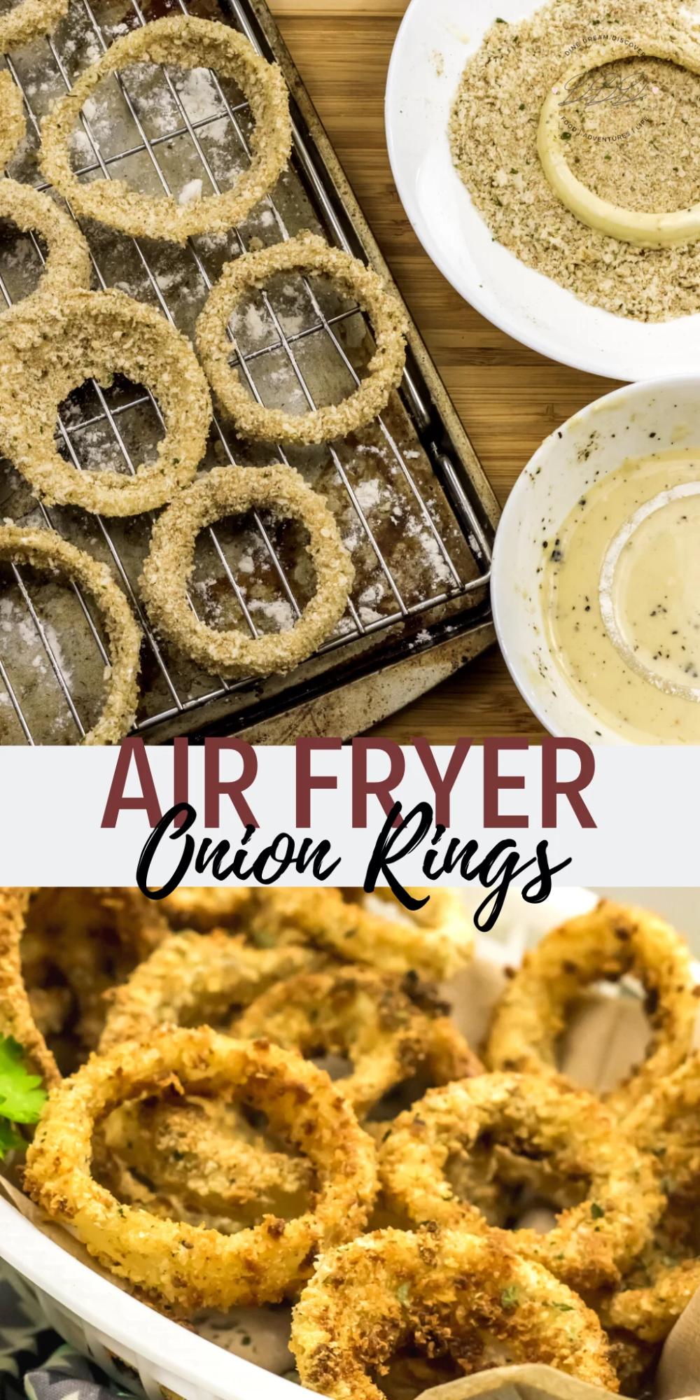 Air Fryer Onion Rings Recipe in 2020 Onion rings