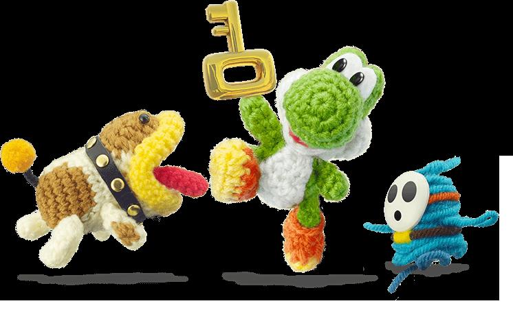 Yoshi Wooly World | Game & Service | Pinterest | Videojuegos, Me ...
