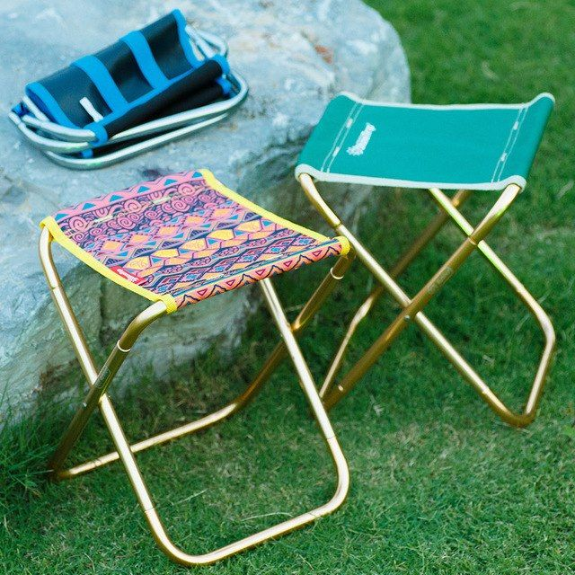 Outstanding Outdoor Mini Portable Folding Stool Aluminum Camping Tripod Pdpeps Interior Chair Design Pdpepsorg